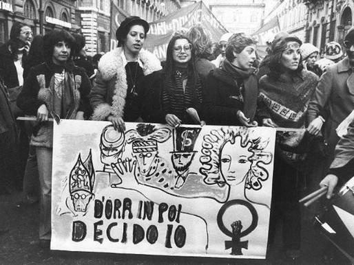 L'Aborto: un rumoroso silenzio tra morale e diritto.