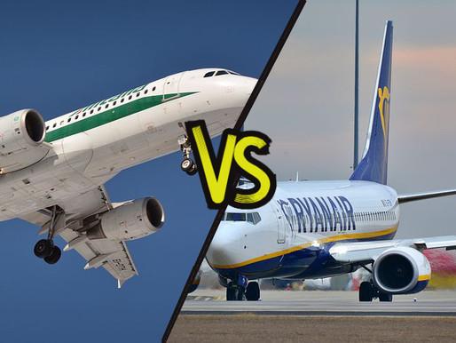 Alitalia vs Low Cost, stato e mercato si scontrano