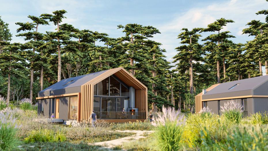 Modern Hut environment