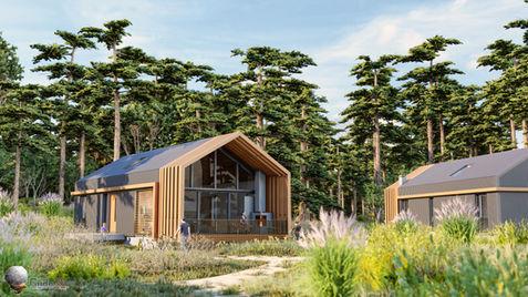 Modern Hut Exterior