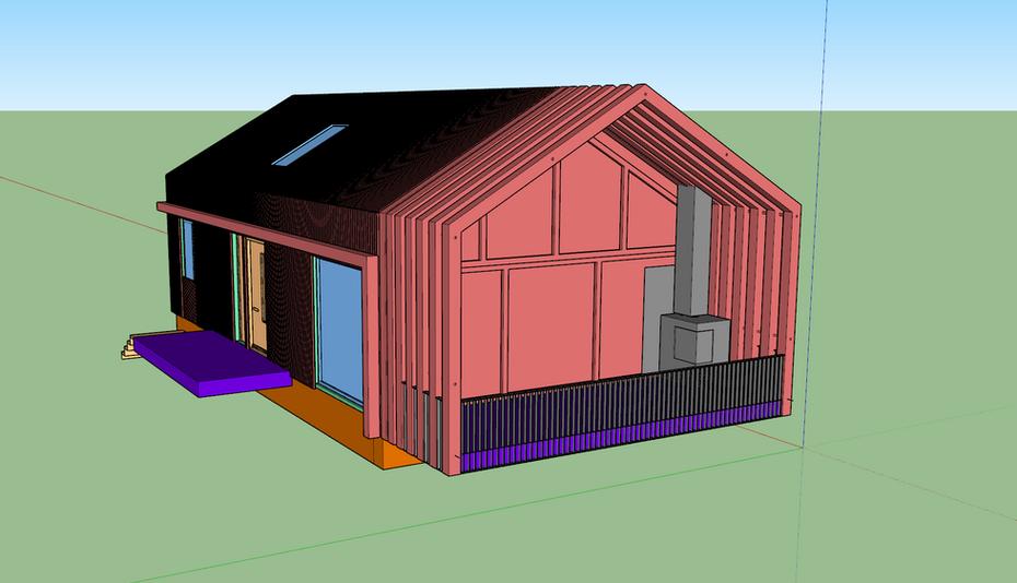 Modern Hut