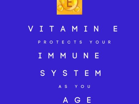 Vitamin E Protects Your Immune System as You Age