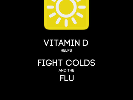Vitamin D Can Help You Fight Off Colds and the Flu