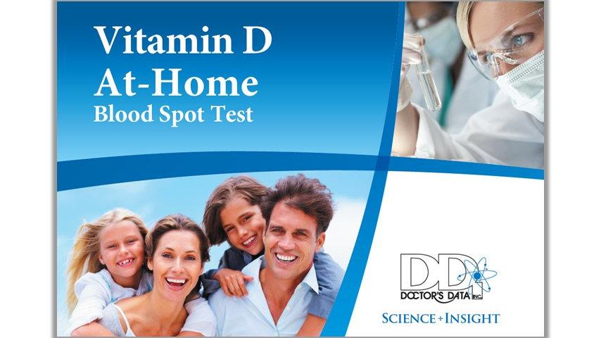 Vitamin D Test - Bloodspot