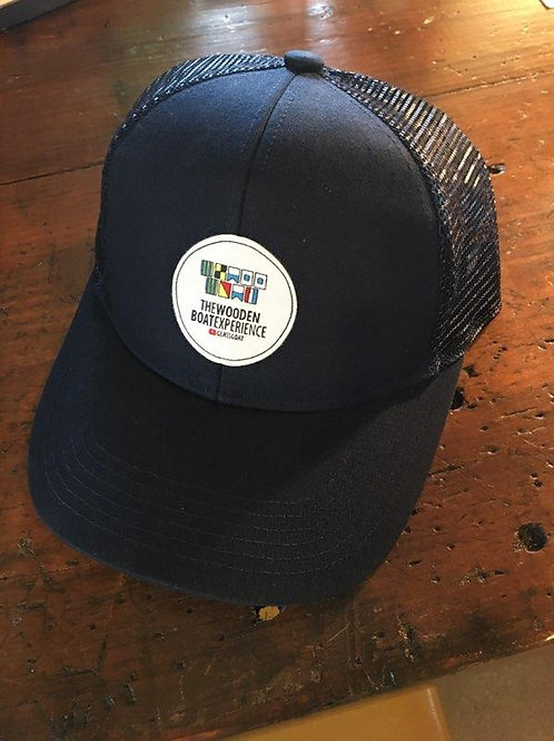 Wooden Boat Experience Classic Blue Patch Hat
