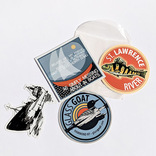 St Lawrence River Sticker Pack