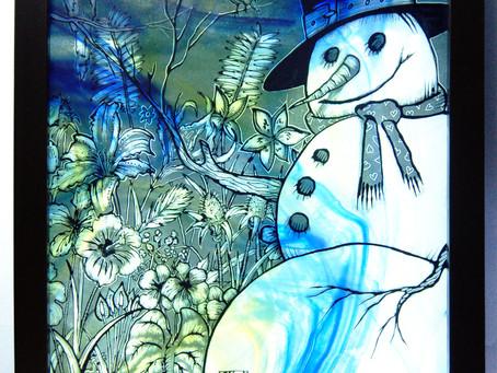 Elsie Larson Inspired Snowman