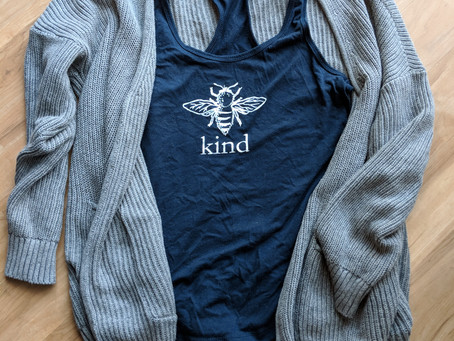 Favorite Things: Bee Kind Tank Top