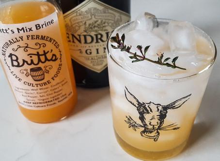 Thyme & Brine: Market to Glass Drink Recipe
