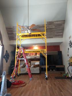 Dumas Ceiling During