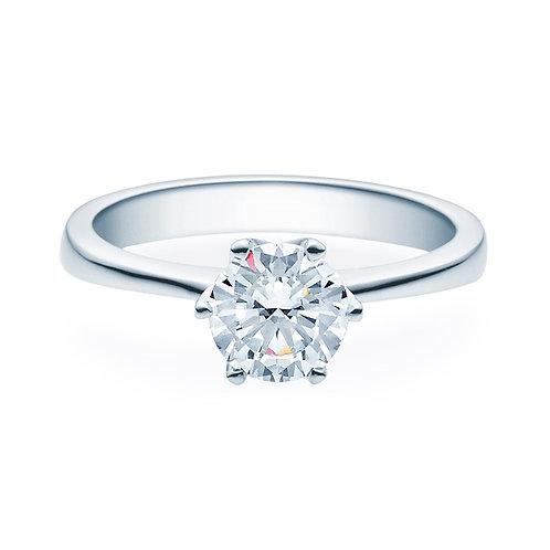 Diamantring forlovelsesring Aida 1,00 ct TW-Si i 14kt gull