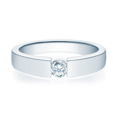 Diamantring forlovelsesring 0,20 ct TW-Si i 14kt gull