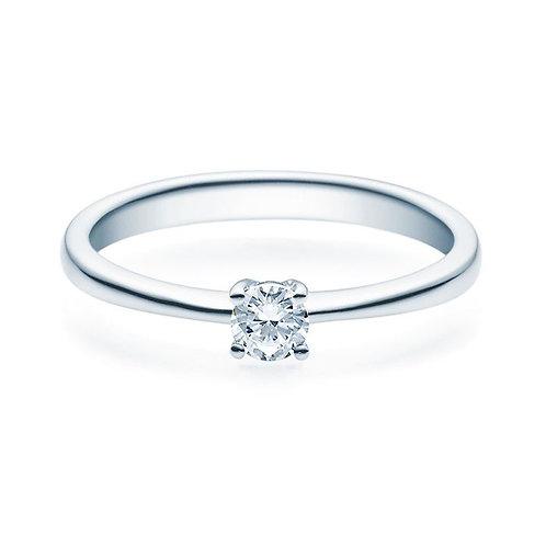 Diamantring forlovelsesring Lilya 0,20 ct TW-Si i 14kt gull