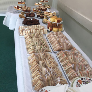 Afternoon tea can be served in a variety of ways