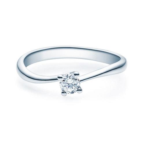 Diamantring forlovelsesring Melina 0,20 ct TW-Si i 14kt gull