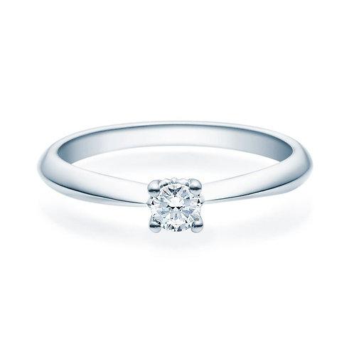 Diamantring forlovelsesring Naima 0,20 ct TW-Si i 14kt gull