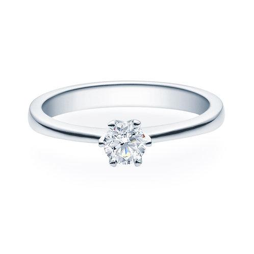 Diamantring forlovelsesring Aida 0,30 ct TW-Si i 14kt gull