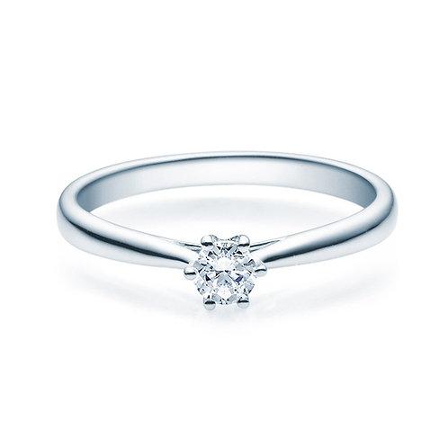 Diamantring forlovelsesring Leticia 0,20 ct TW-Si i 14kt gull