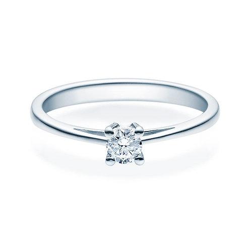 Diamantring forlovelsesring Soria 0,20 ct TW-Si i 14kt gull