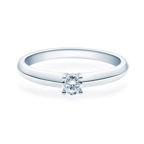 Diamantring forlovelsesring Elissa 0,20 ct TW-Si i 14kt gull