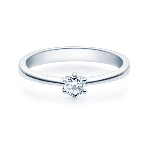 Diamantring forlovelsesring Diona 0,20 ct TW-Si i 14kt gull