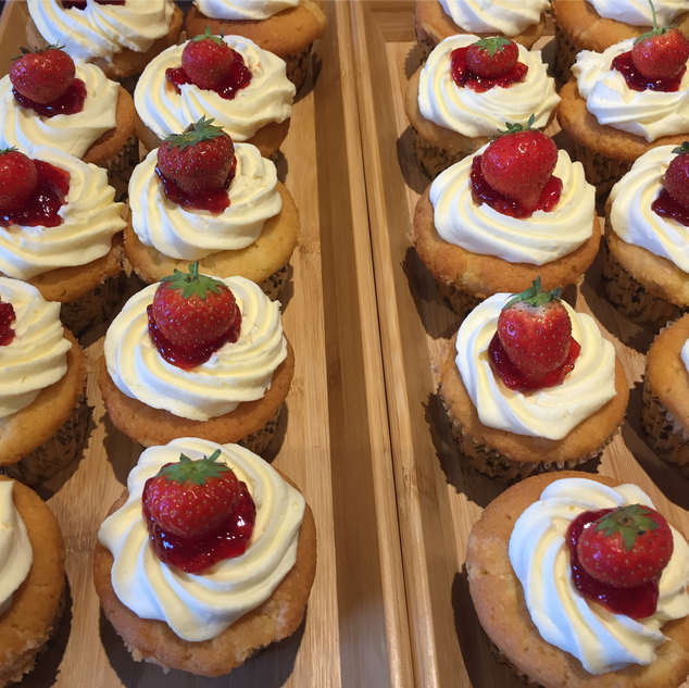 AS part of our strawberry cream tea