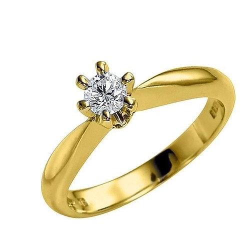 Diamantring forlovelsesring Athene 0,21ct TW-Si
