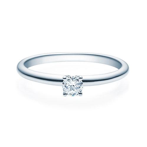 Diamantring forlovelsesring Jasmina 0,20 ct TW-Si i 14kt gull
