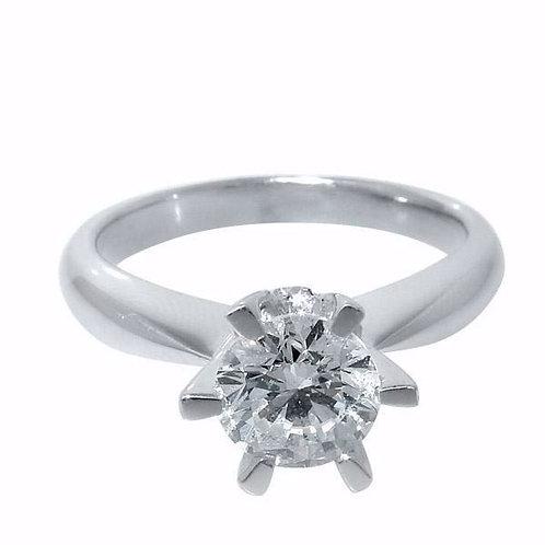 Diamantring forlovelsesring Athene 1,00 ct W/Si2