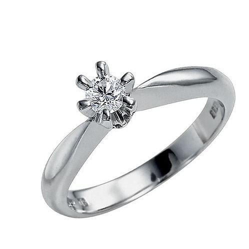 Diamantring forlovelsesring Athene 0,175 ct TW-Si