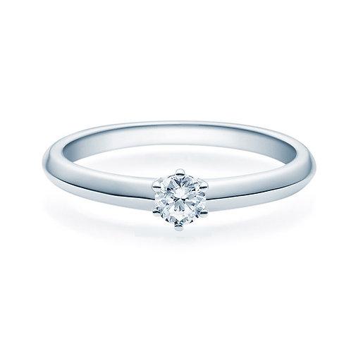 Diamantring forlovelsesring Violetta 0,20 ct TW-Si i 14kt gull