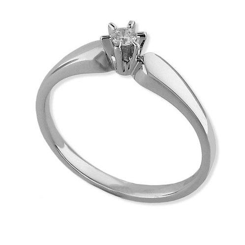 Diamantring forlovelsesring  Sofia 0,05 ct W-SI