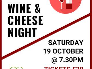 Wine and Cheese Night
