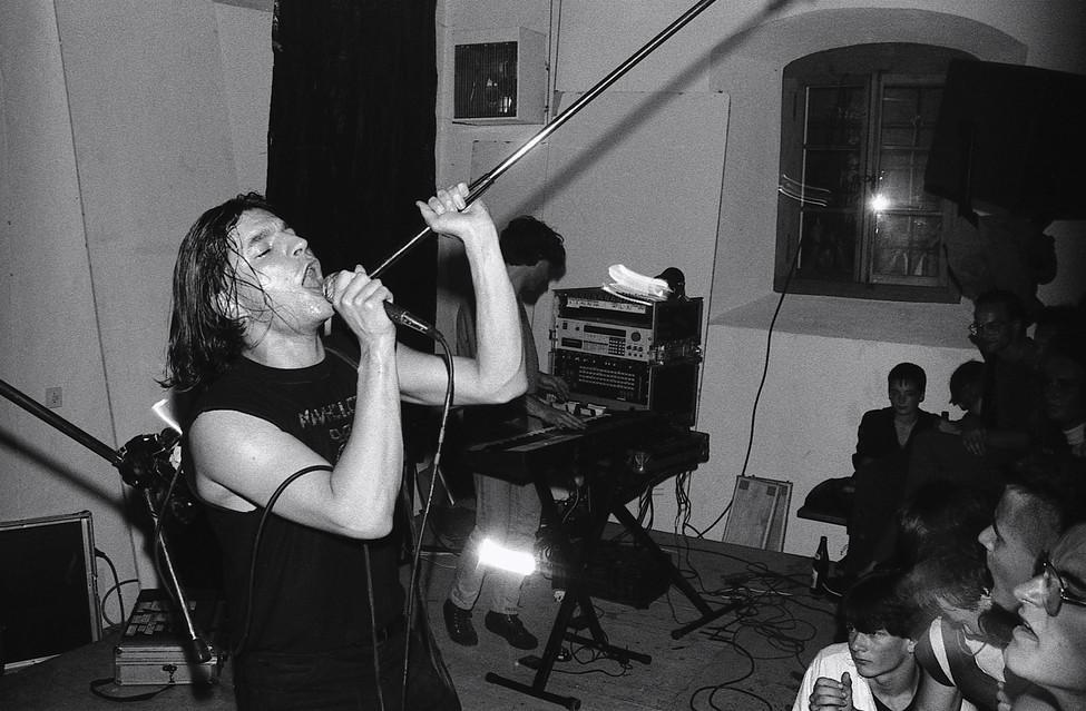 Young Gods, Sarnen, 1987