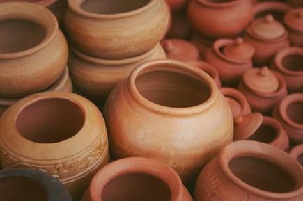Clay Pots that Leak