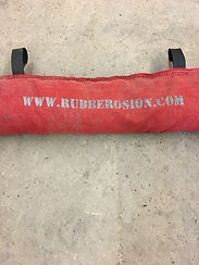 Krush Rubber Wattle, Recycled Rubber Sock, RRS, Rock Sock, BMP, Rubber Sock, Rubber Wattle, Stormwater, Denver, Area Inlet