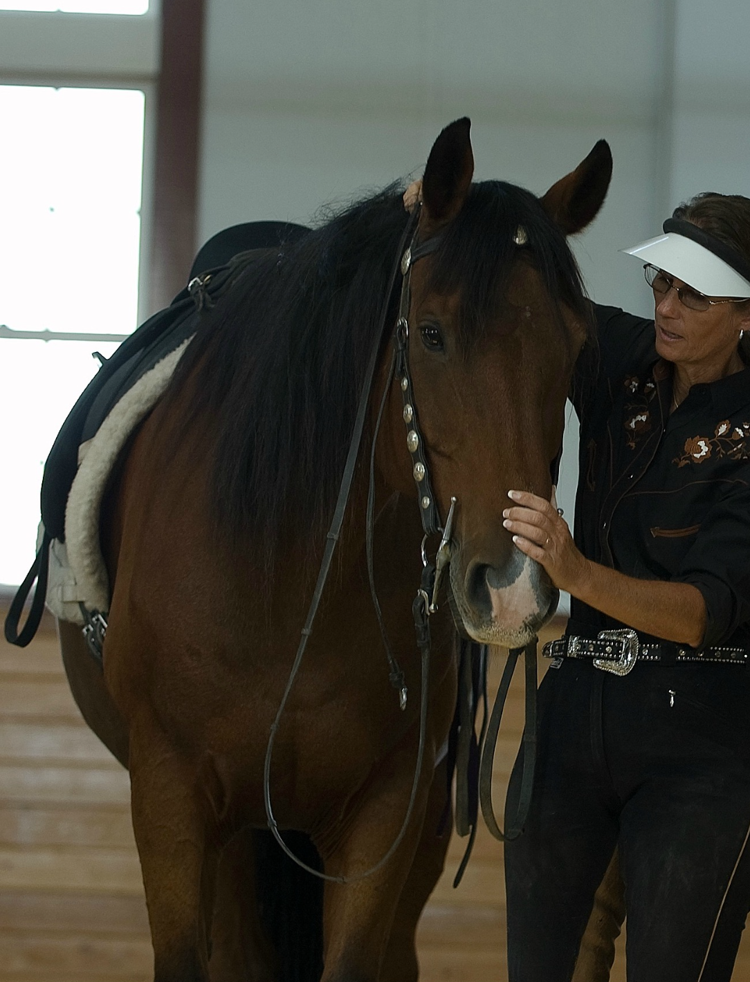 Simple Equine Teaching-Dee&Uly