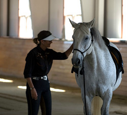 Simple Equine Teaching - Dee and Sig