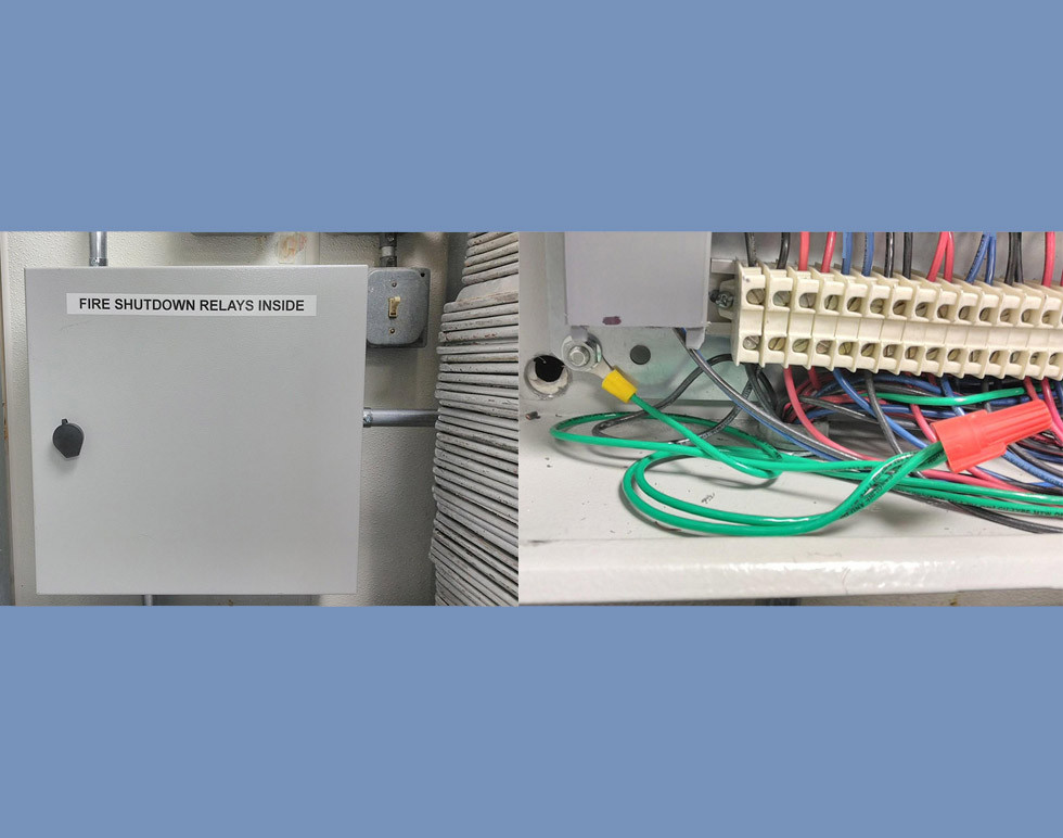 Hood Fire Interlock Panel