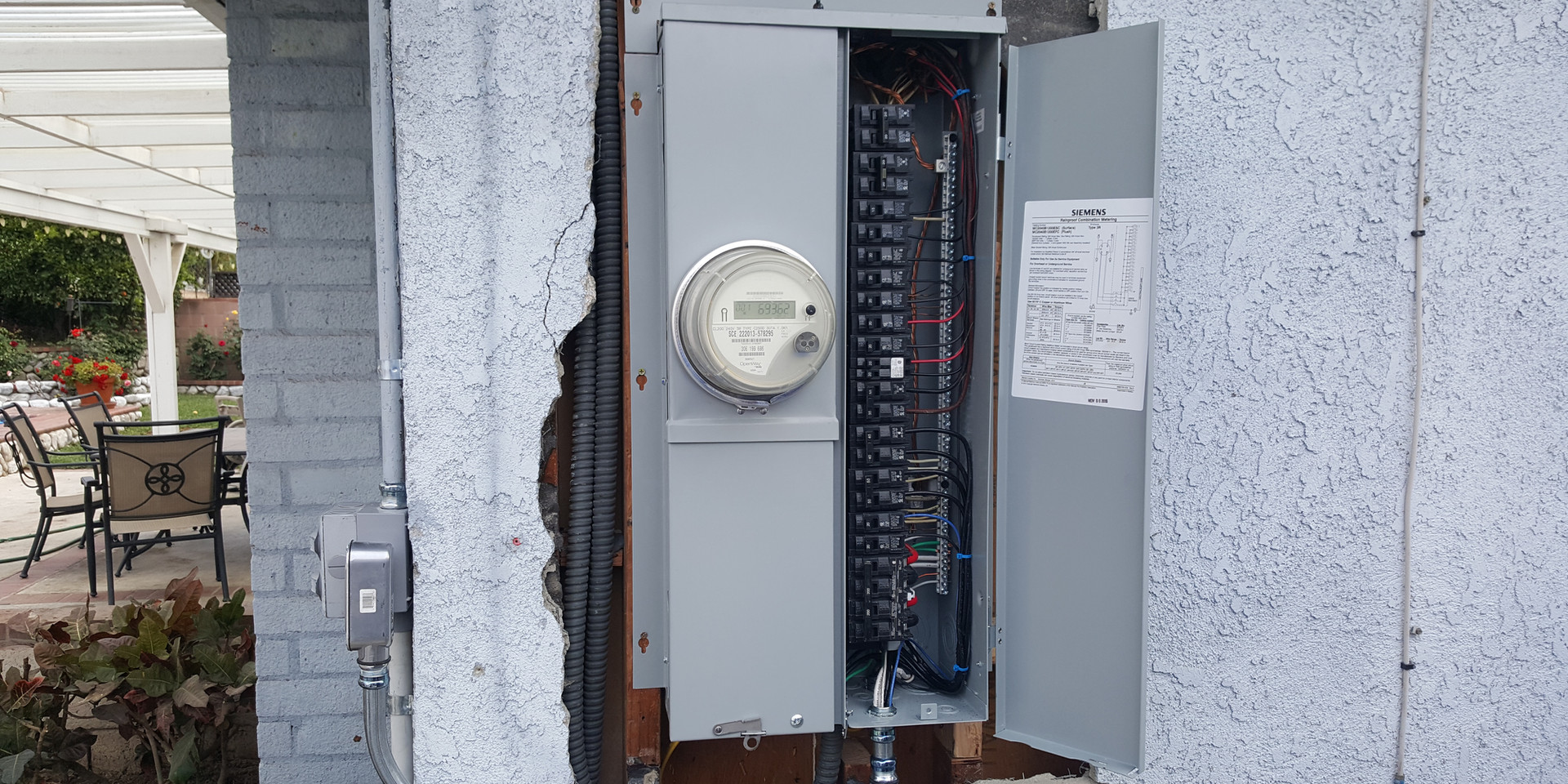 Breaker aka Service Panel Installation in Progress