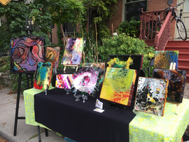 POURGIRLARTS ART TABLE