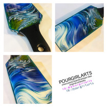 blue wave charcuterie paddle
