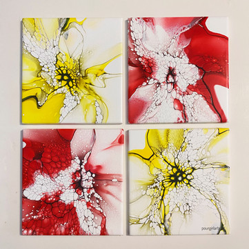 wandering web ceramic tiles