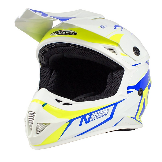 MX620 Podium White / Blue / Yellow