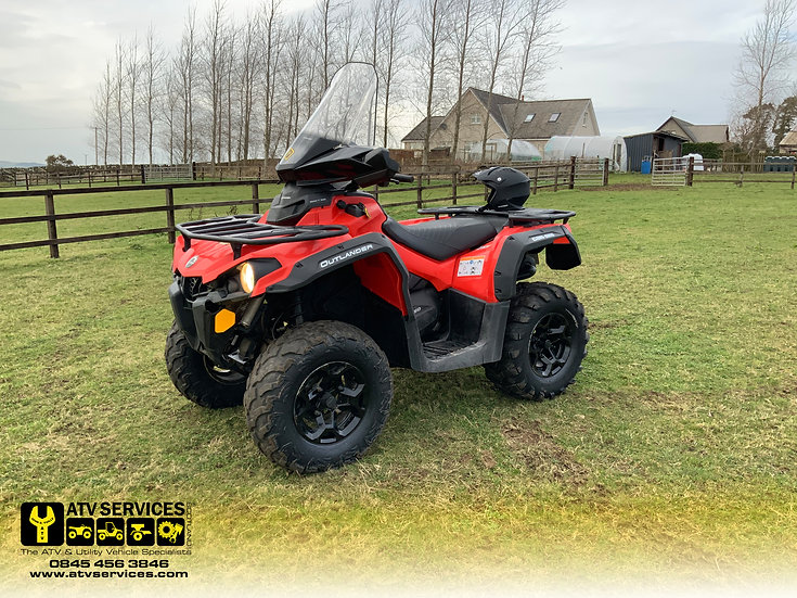 2017 Can-Am Outlander 450 Pro