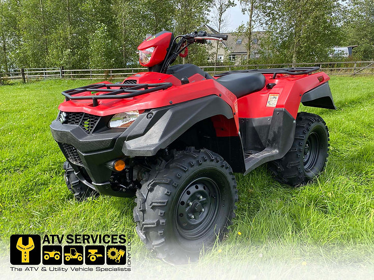 2019 Suzuki King Quad 500XP