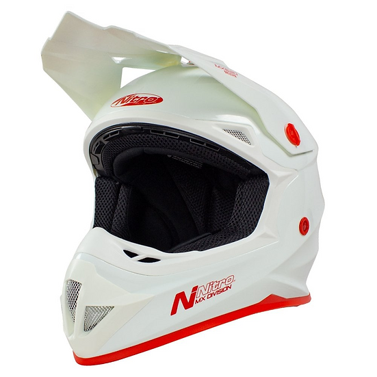 Helmet MX620 Uno White (youth sizes available)