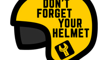A helmet is to cover your head, not your backside!