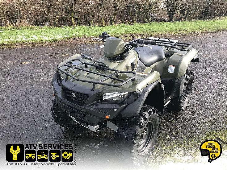 2018 Suzuki King Quad 500 4wd