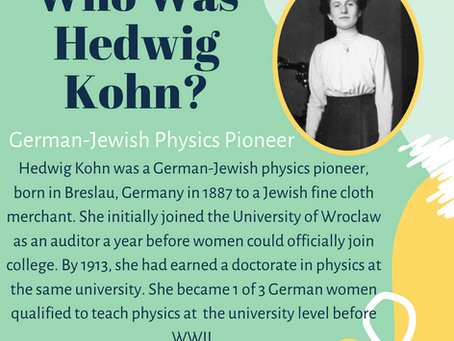 Who is STEM: Hedwig Kohn